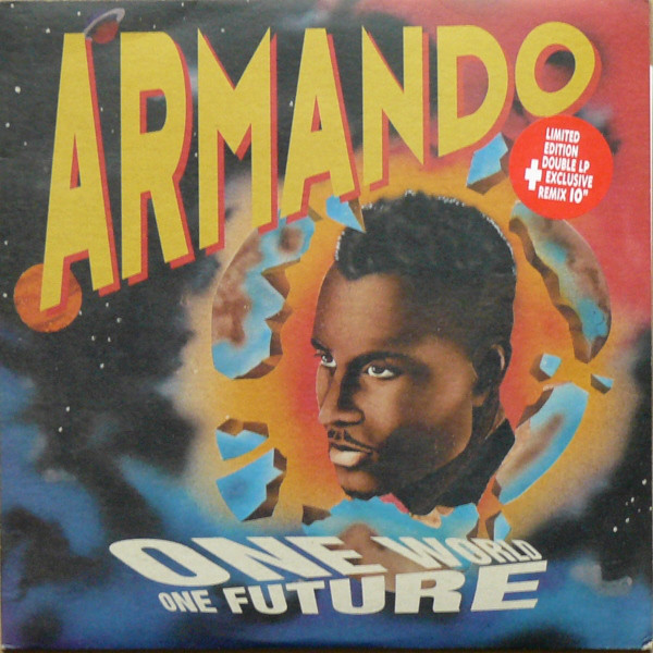 Armando ‎– One World One Future LP 2 x 12