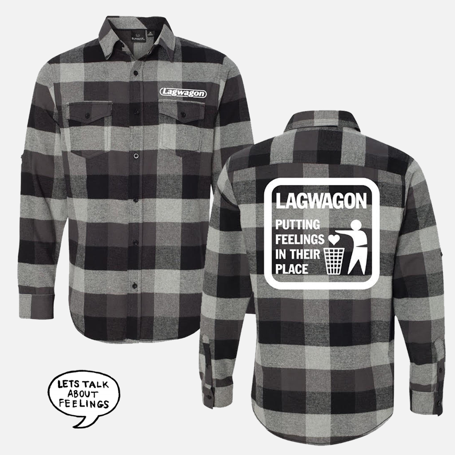 Putting Feelings In Their Place Flannel