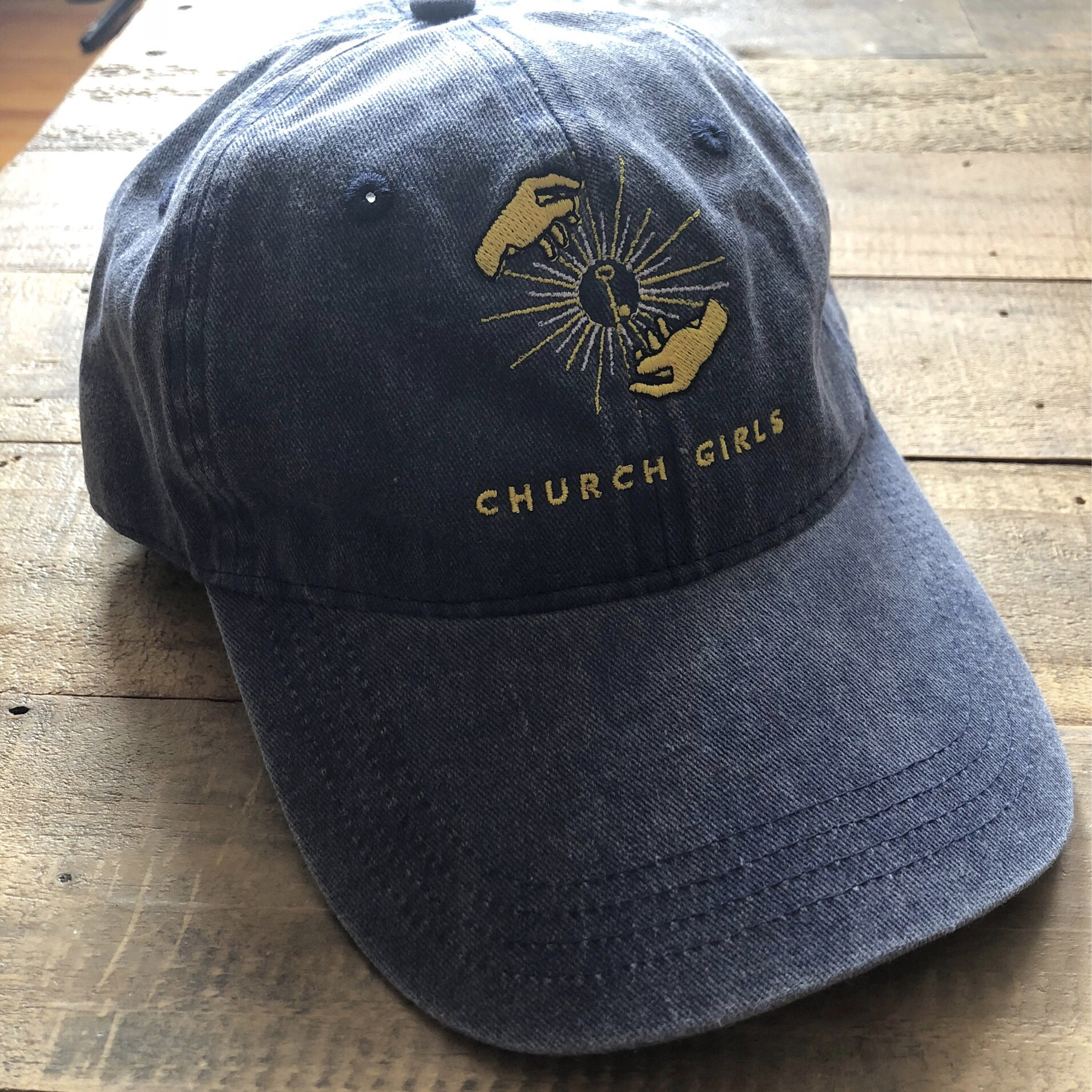 Church Girls - Hats / Enamel Pins