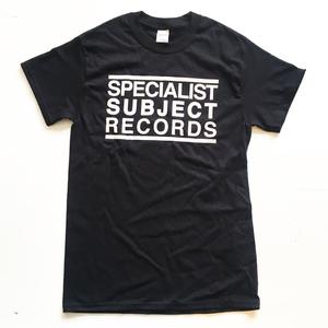 Specialist Subject - Logo T-shirt Black