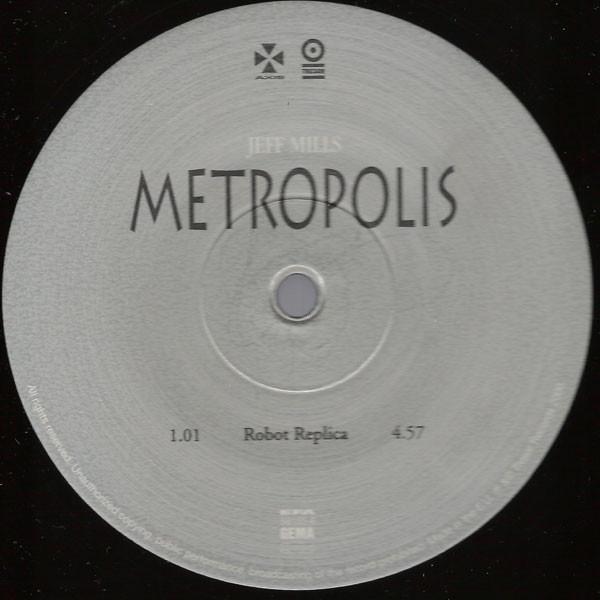 Jeff Mills – Metropolis 2  (Tresor)