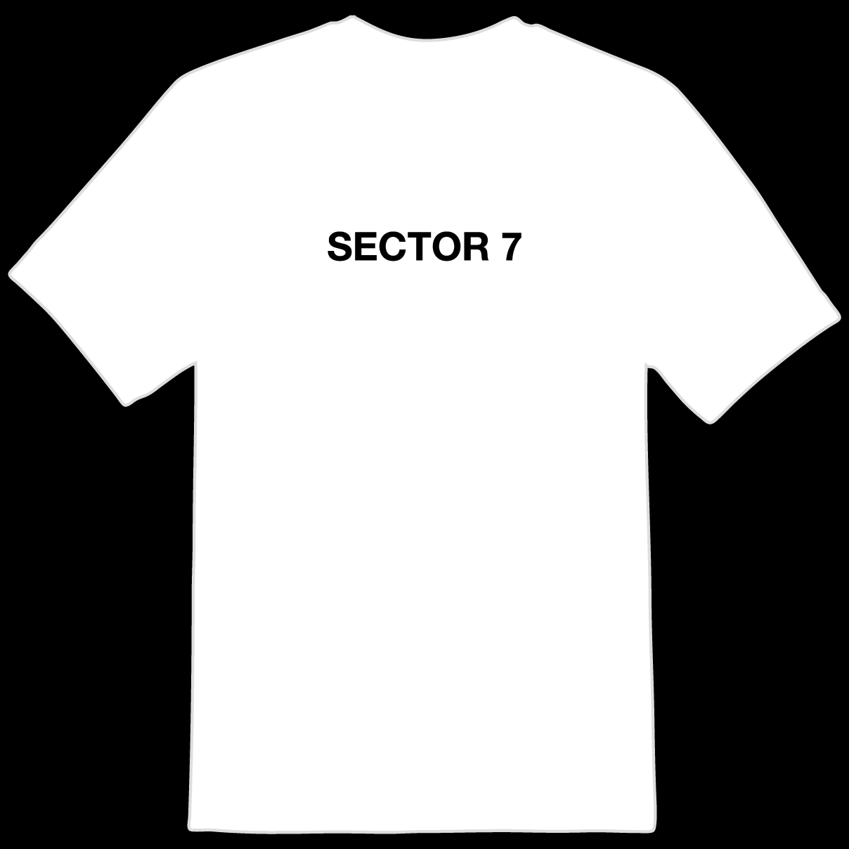 Sector 7 Sounds - Classic Logo Tee (LIMITED STOCK)