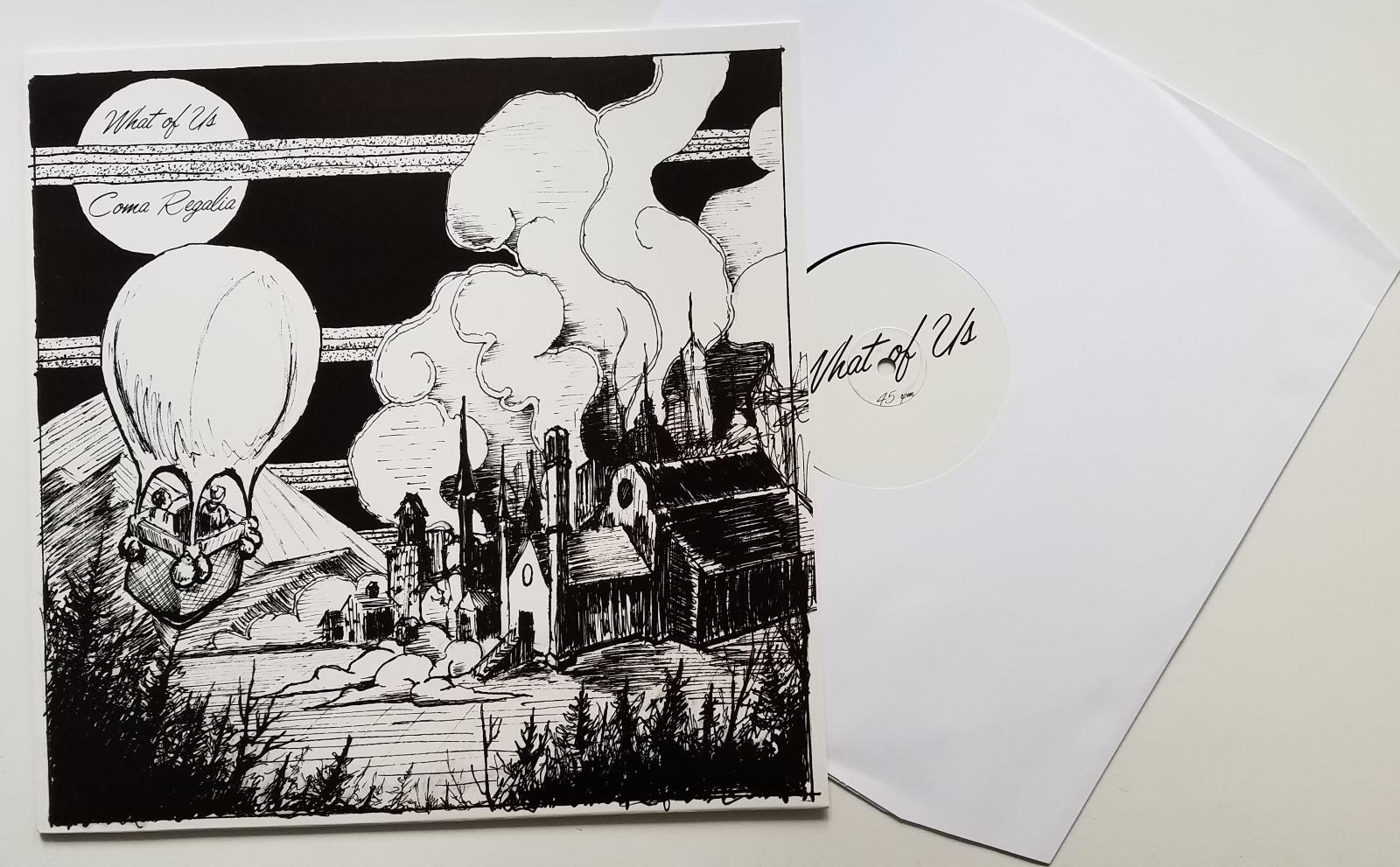 What Of Us / Coma Regalia - Split12