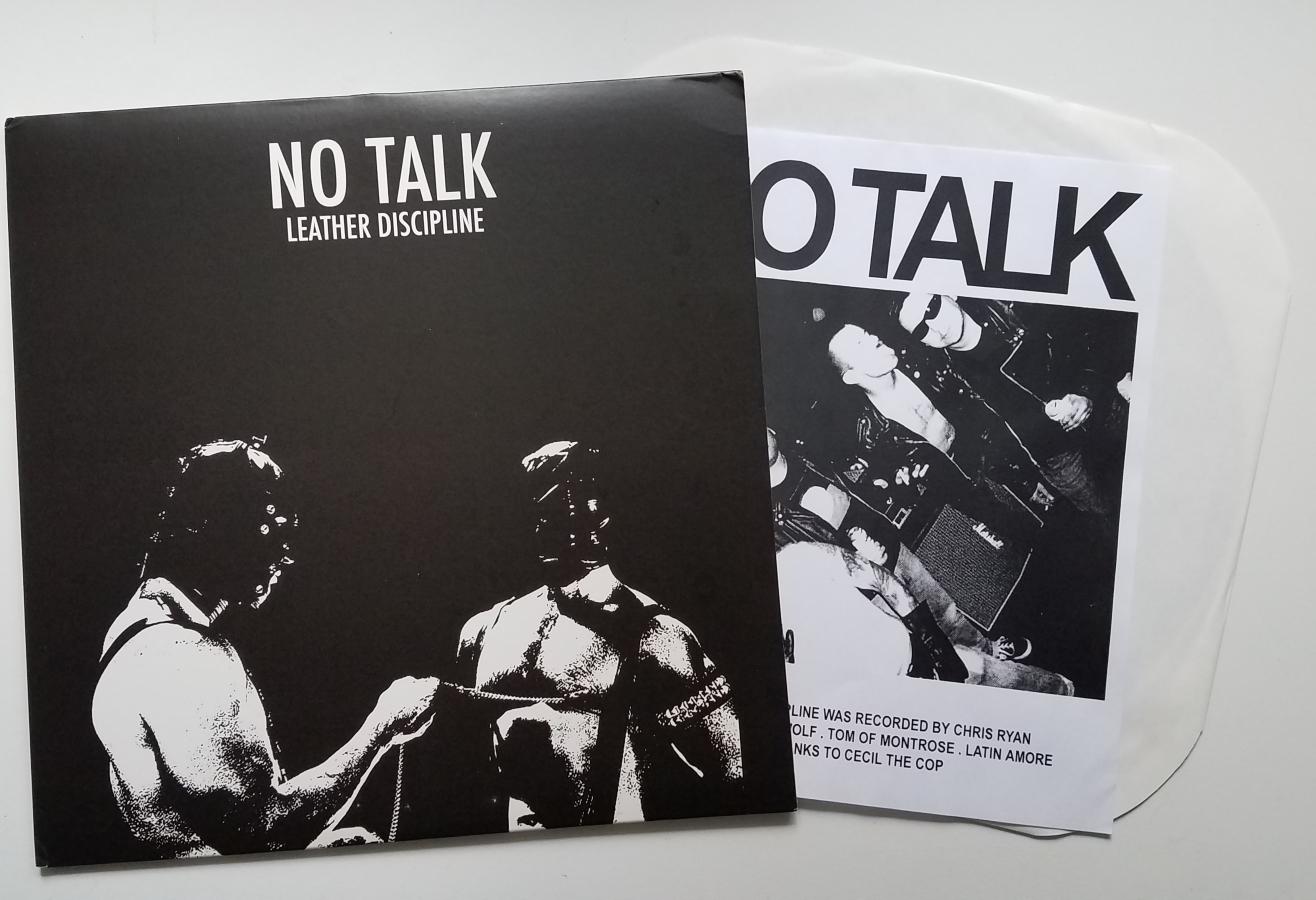No Talk - Leather Discipline LP