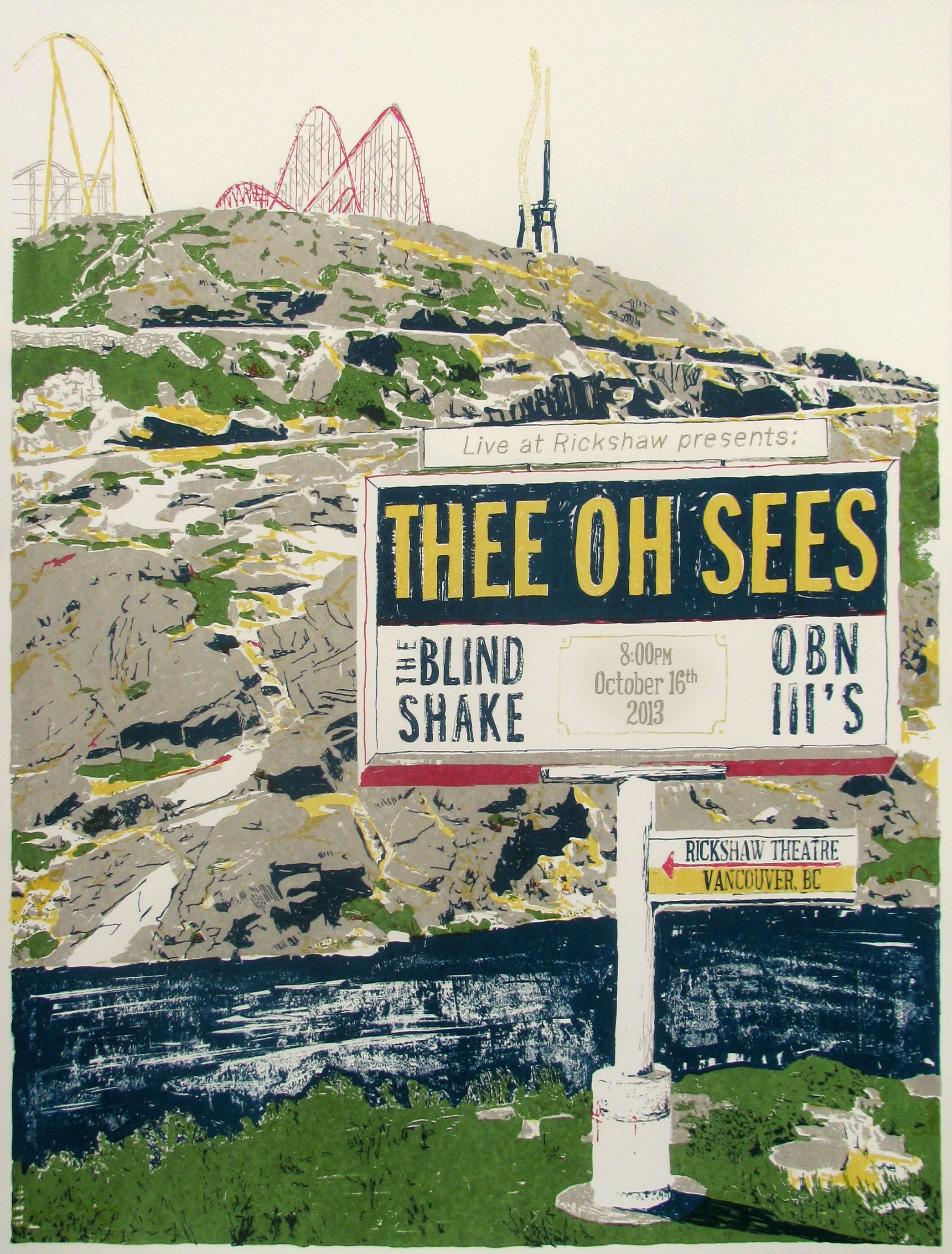 The Oh Sees Poster