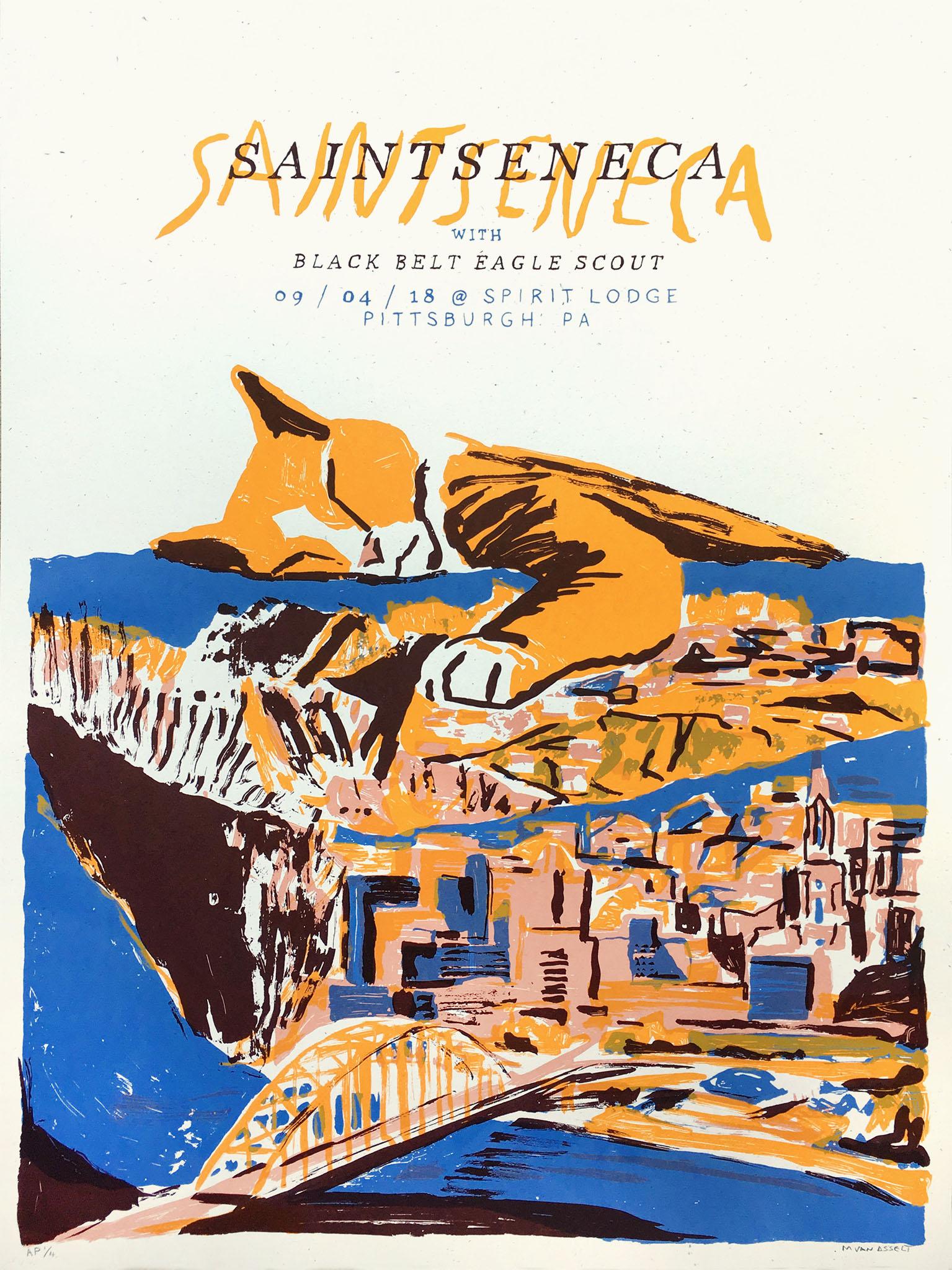 Saintseneca Poster
