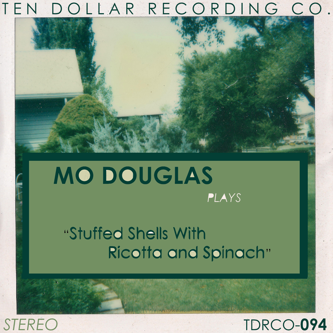 Mo Douglas - Stuffed Shells with Ricotta and Spinach (Single)