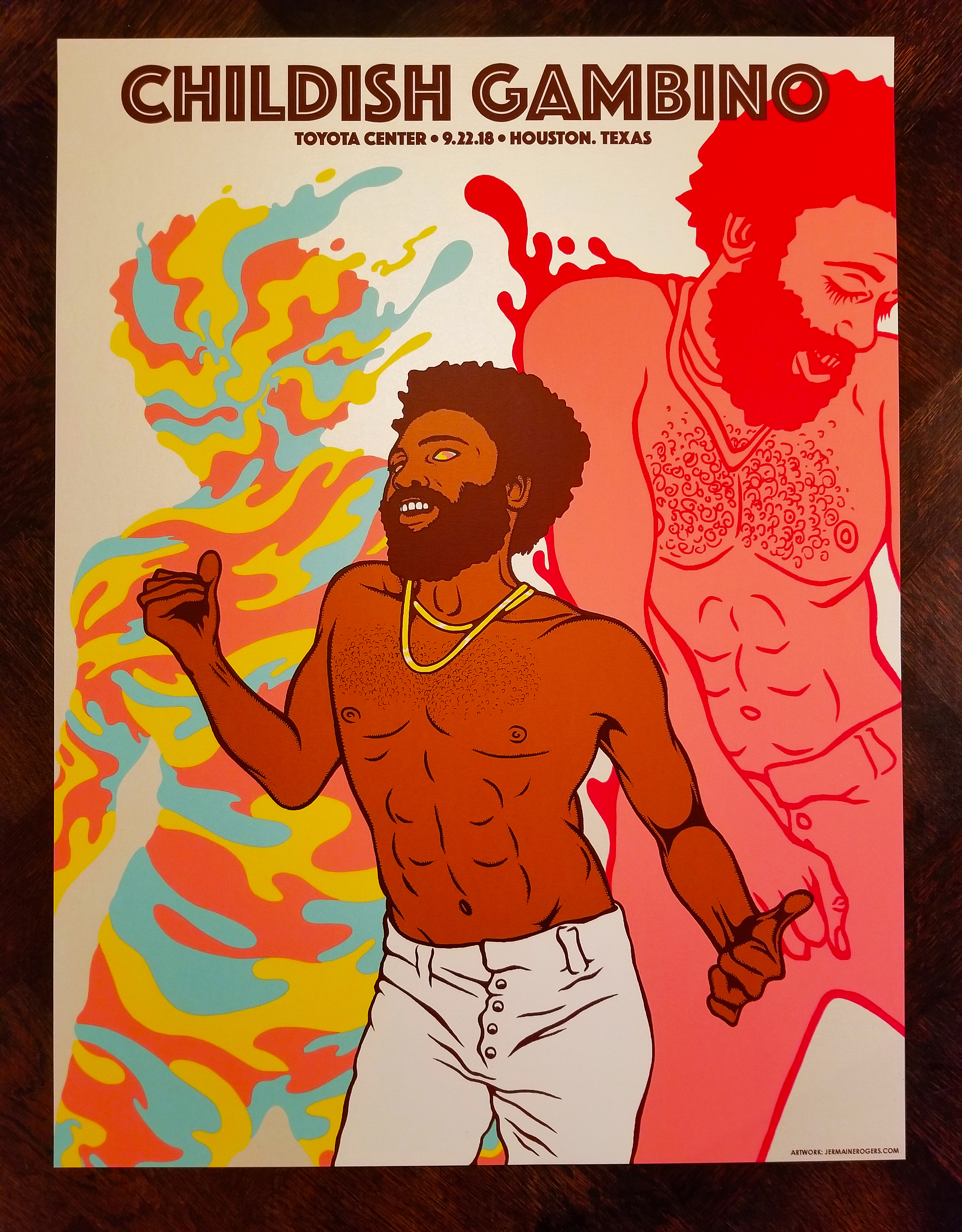 NEW - Childish Gambino (Houston 2018) Artist Edition (STUDIO COPIES)