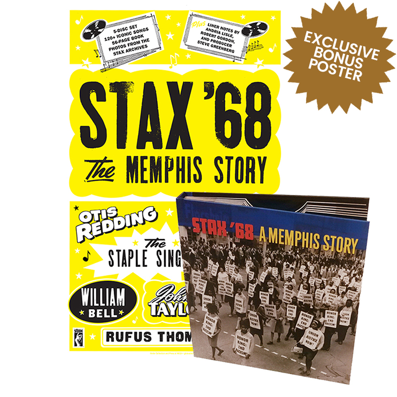 Stax '68 + Letterpress Poster Bundle