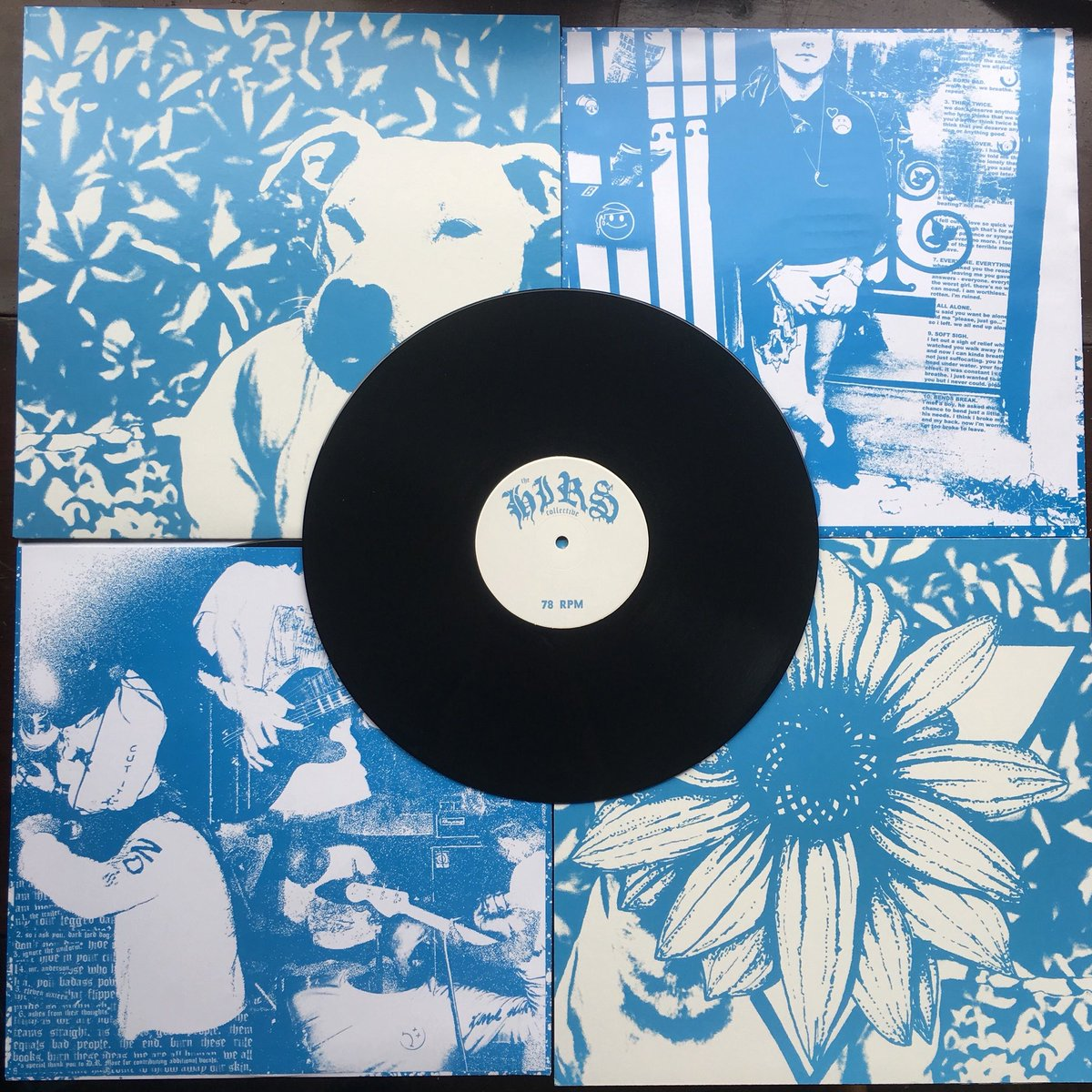 Jenna Pup / The HIRS Collective split LP