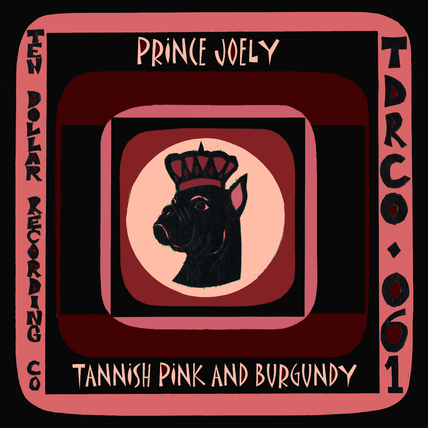 Prince Joely - Tannish Pink and Burgundy (Single)