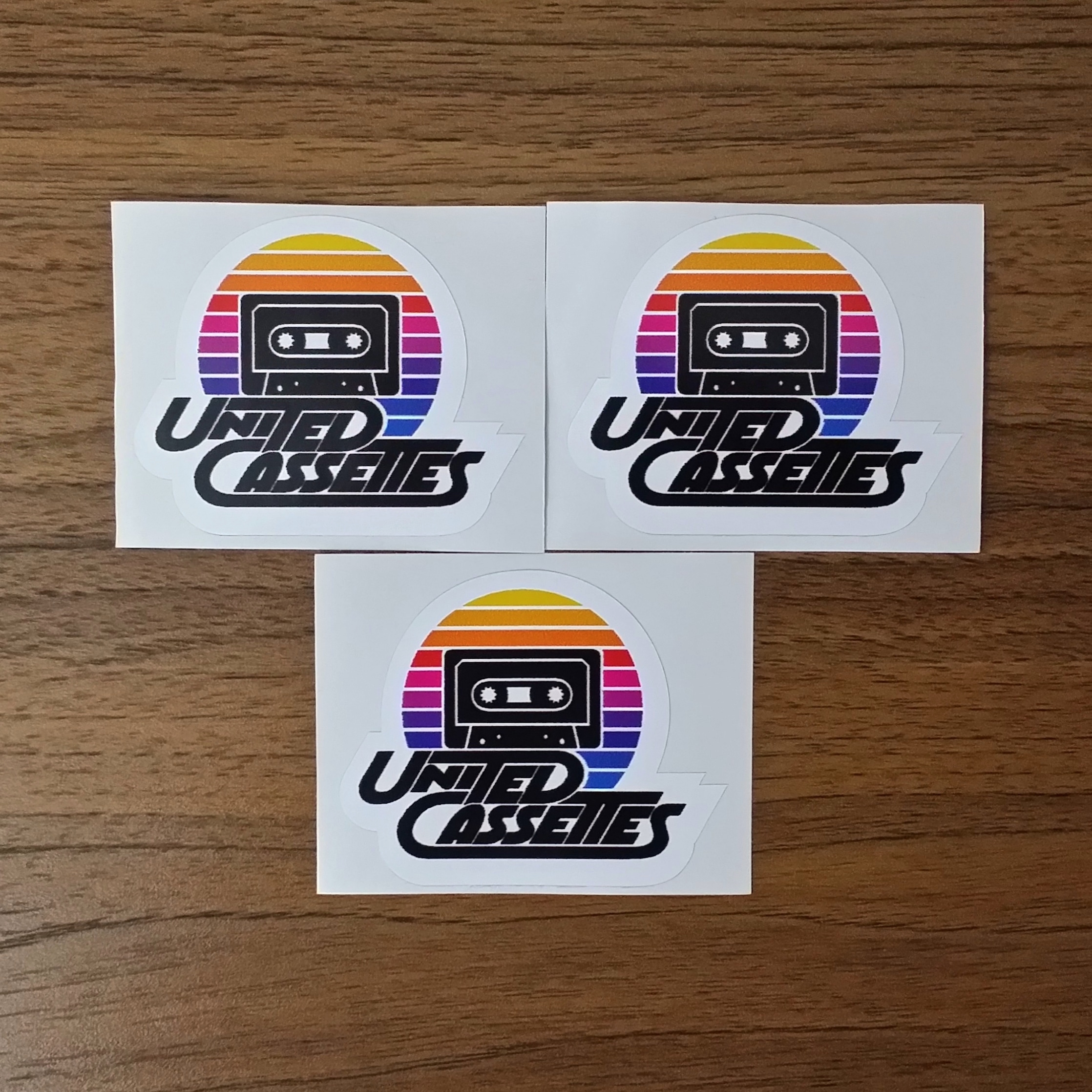 UC Stickers (Set of Three)