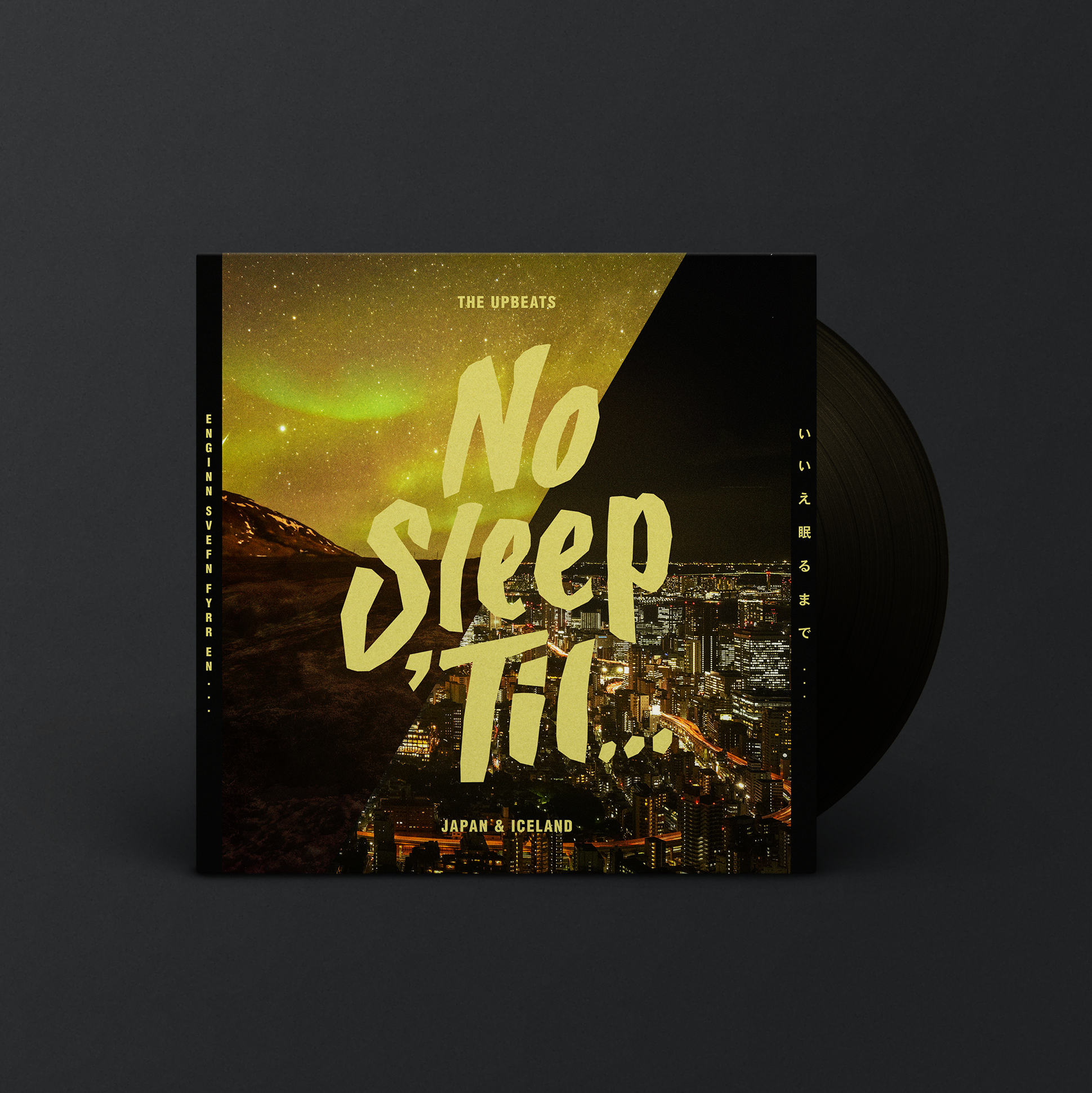 No Sleep 'Til... Japan & Iceland - Digital, Vinyl & Tee Black