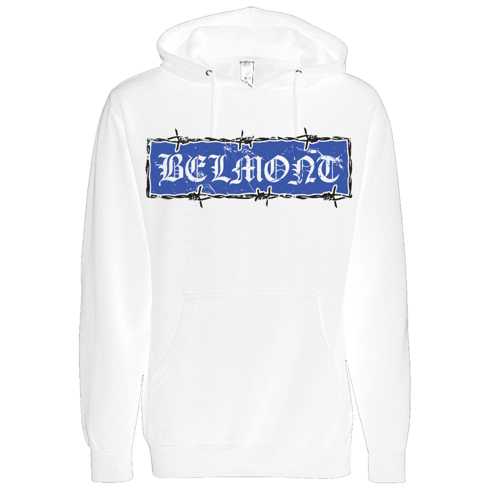 Barbed Wire Hoodie (white)