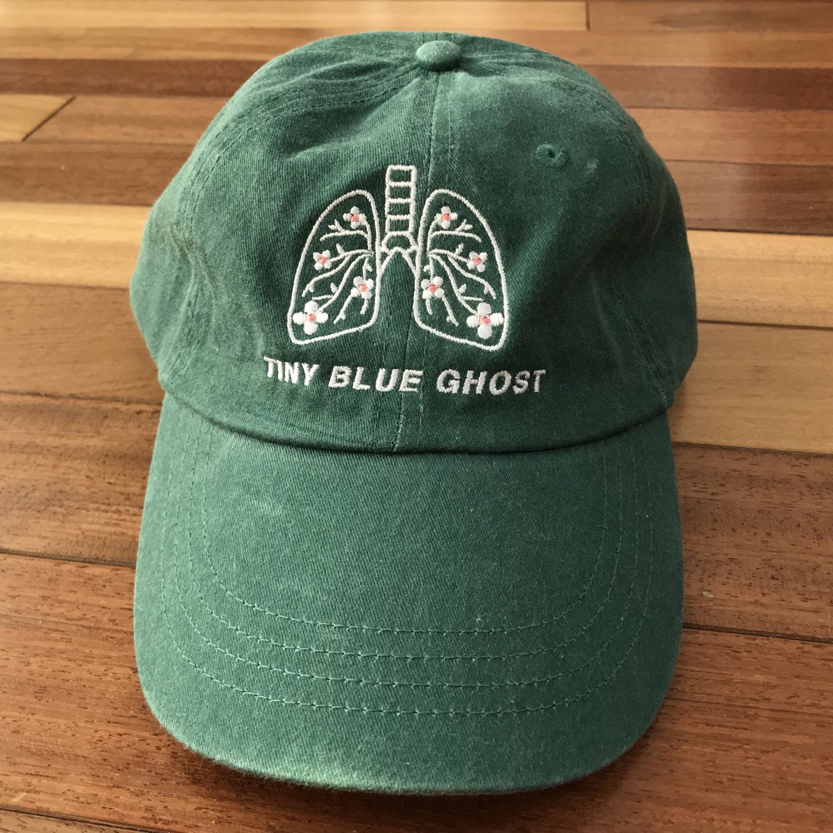 Tiny Blue Ghost - Hats / Enamel Pins / Prints
