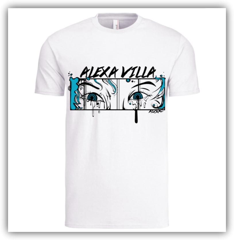 Crazy Eyes T-Shirt (WHITE)