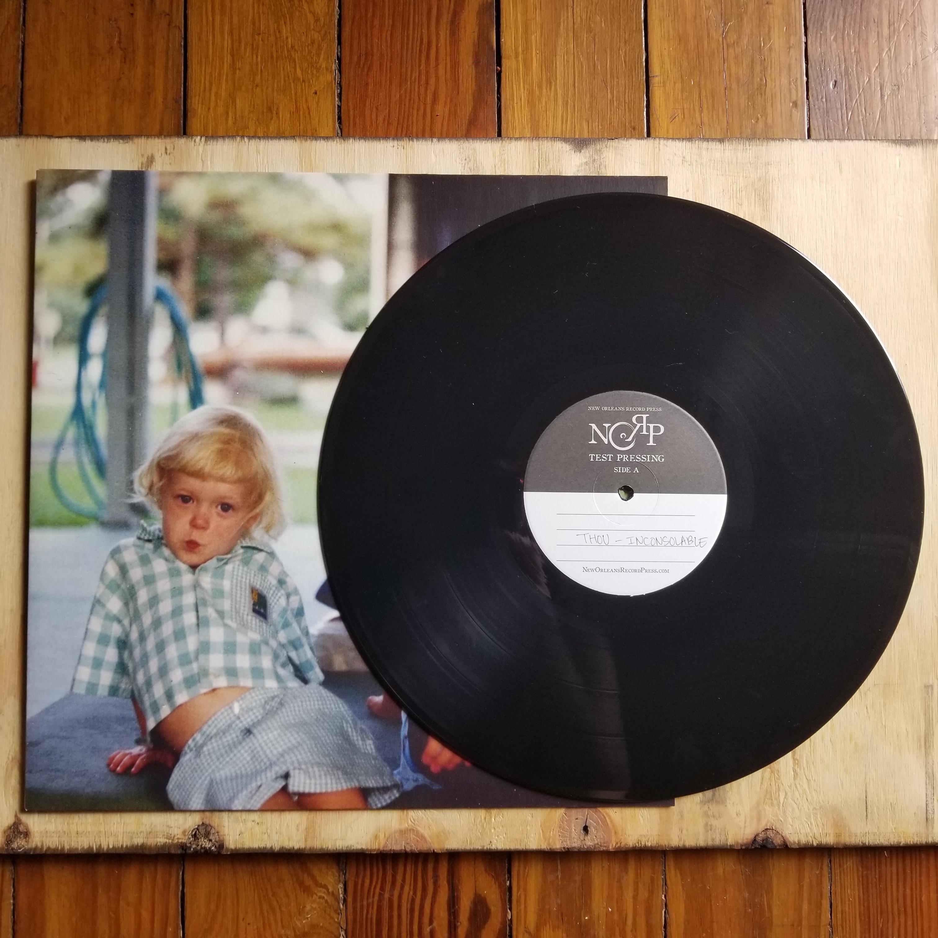 community records - test pressing - thou - inconsolable - vinyl