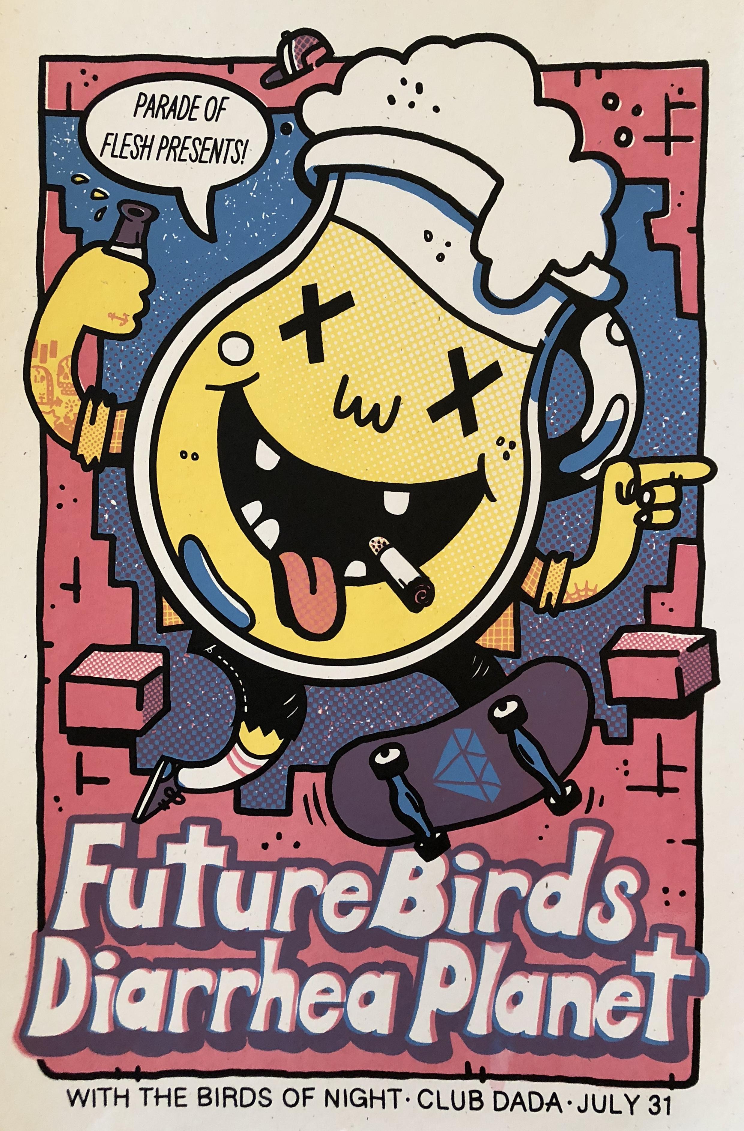 Diarrhea Planet, Futurebirds at Club Dada