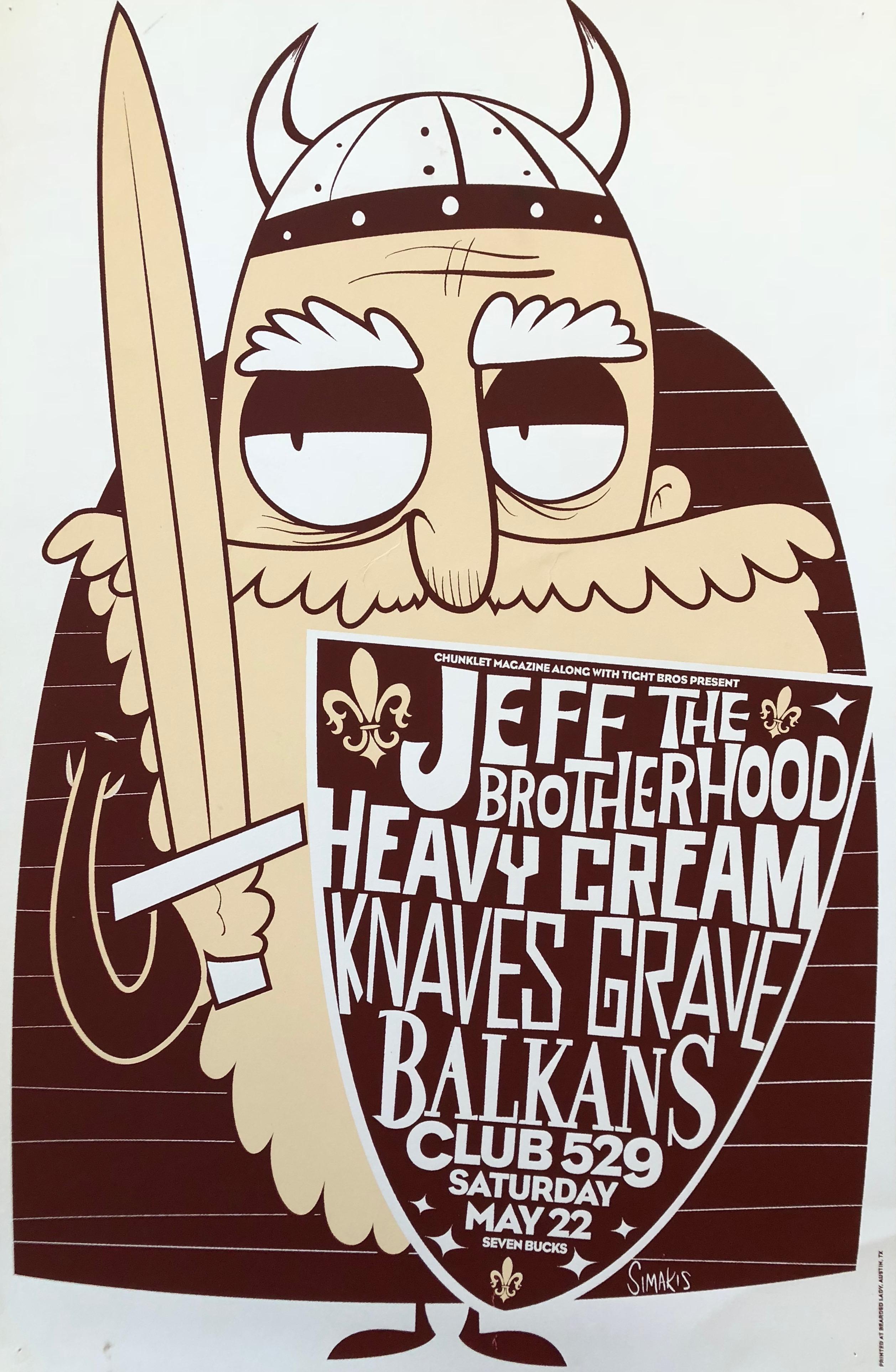 JEFF The Brotherhood  and Heavy Cream at Club 529