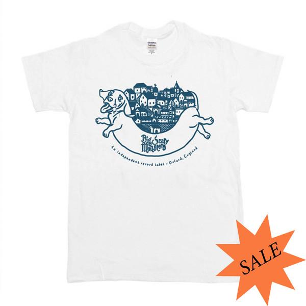 BSM Logo Shirt - White/Grey
