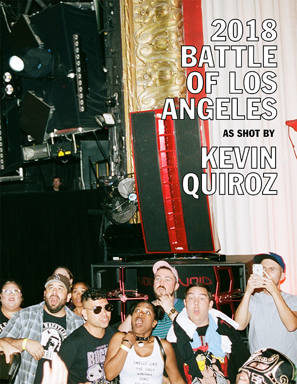 2018 Battle Of Los Angeles by Kevin Quiroz - SOLD OUT