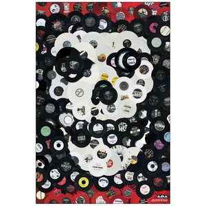 Bridge Nine 'Vinyl Skull' Poster