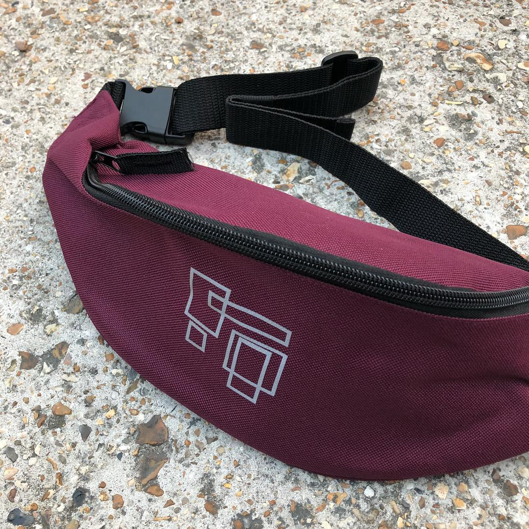 Maroon 3M Fanny Pack