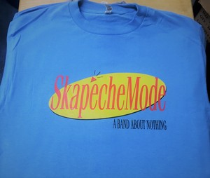 Skapeche Mode - Band About Nothing T-Shirt