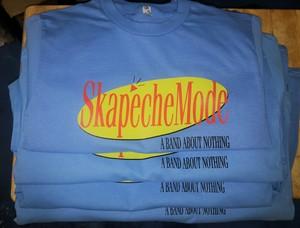 Skapeche Mode - Band About Nothing T-Shirt