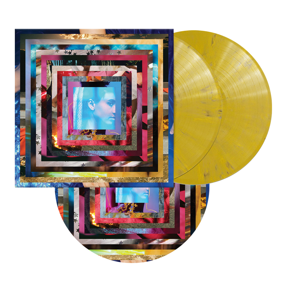 Signed 2xLP Test Pressing + Ochre Yellow 2xLP + Turntable Mat Bundle (50 available)
