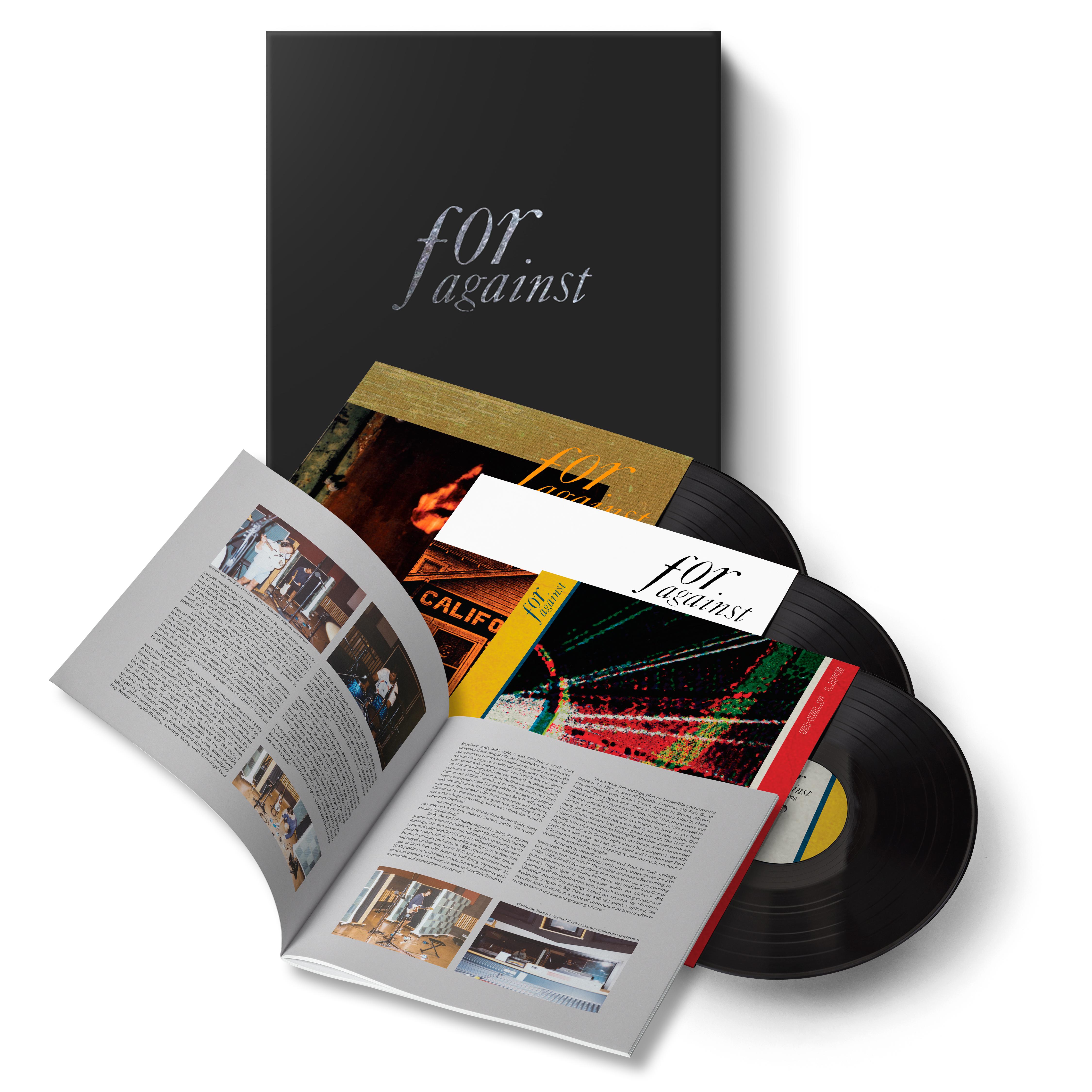 Saint Marie Records For Against 90s Reissues Box Set (3LP)