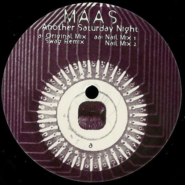 Maas ‎– Another Saturday Night (Soma Quality Recordings)