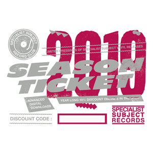 2019 Season Ticket - Vinyl Subscription