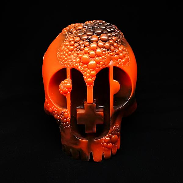 Resin Plague Skull