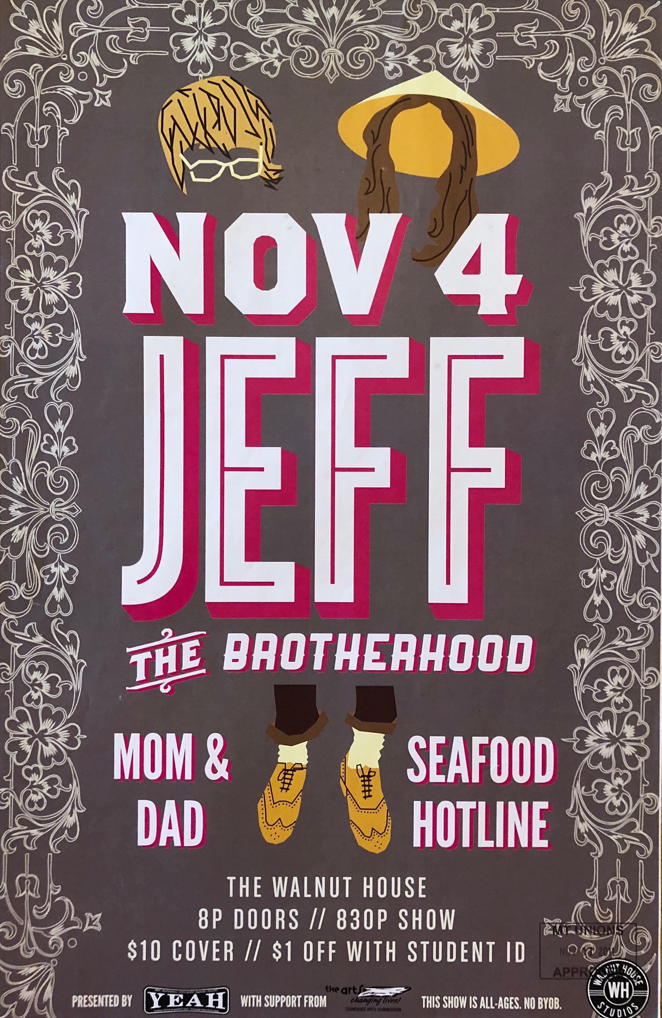 JEFF The Brotherhood, Mom & Dad, Murfreesboro Walnut House