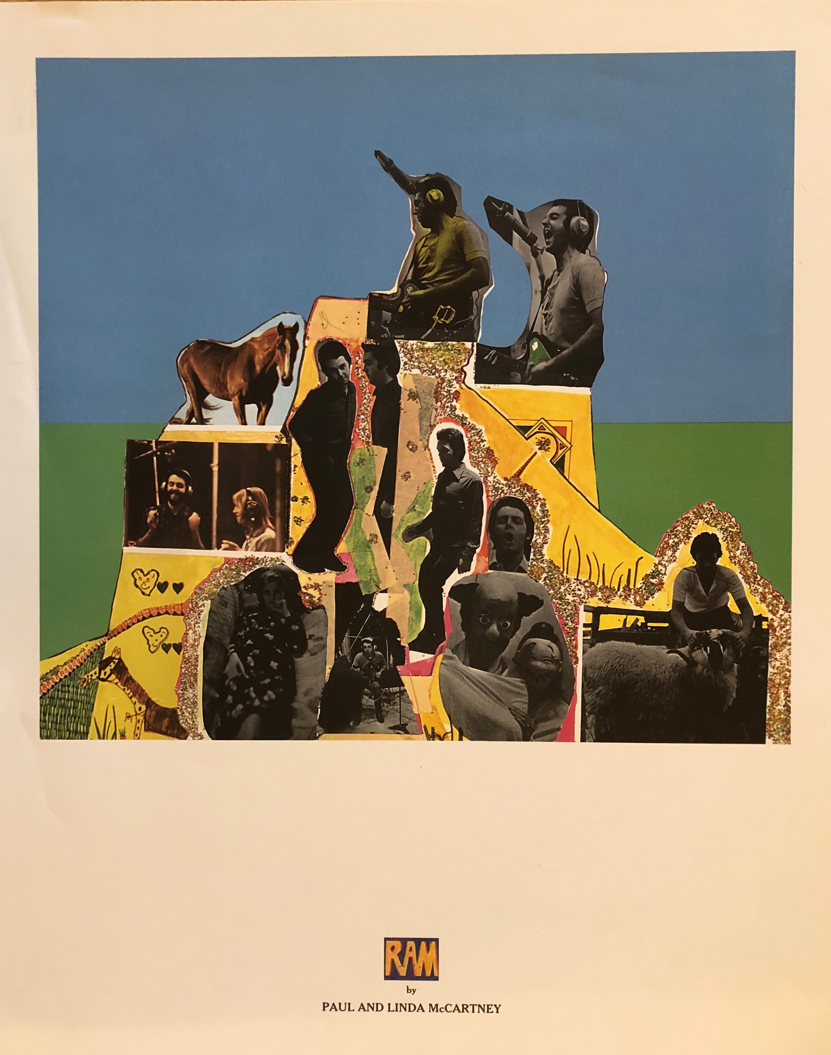 Paul McCartney RAM Lithograph - Why? Because we have one