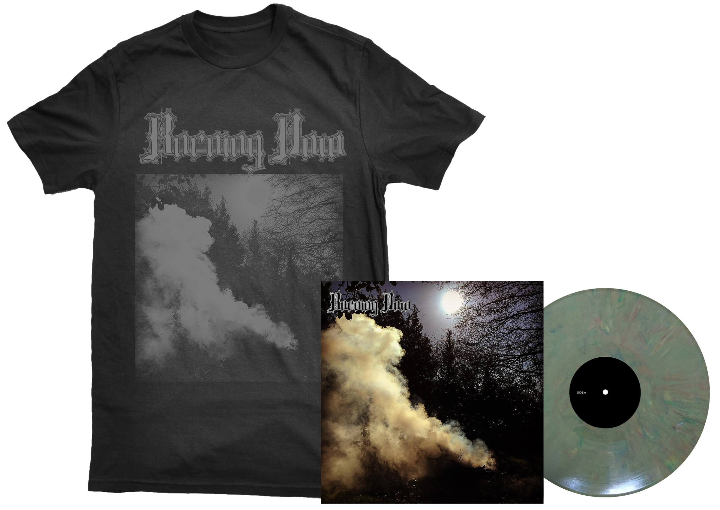 Burning Vow - S/T shirt + LP