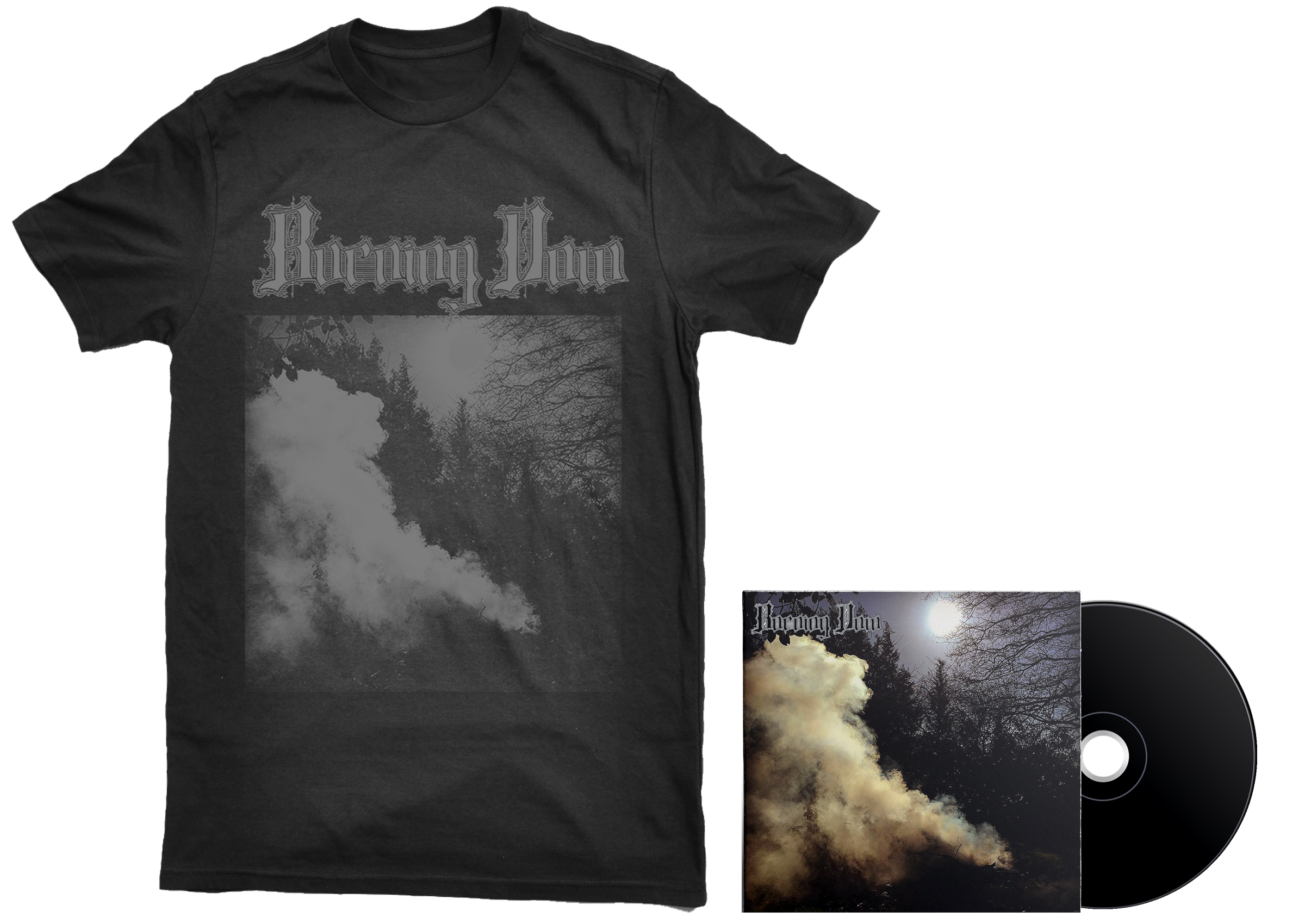Burning Vow - S/T shirt + CD PREORDER