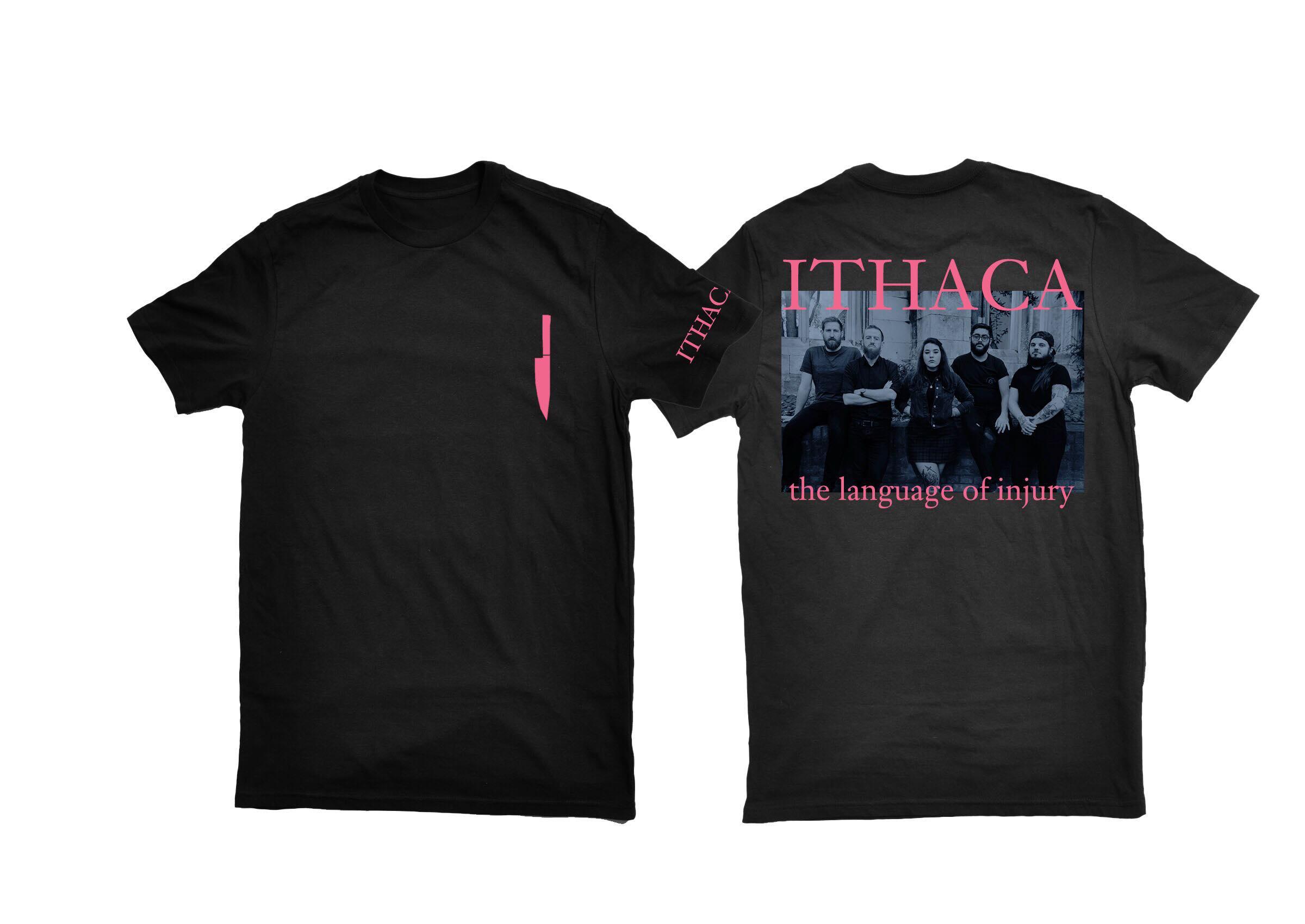 ITHACA - The Language of Injury shirt PREORDER