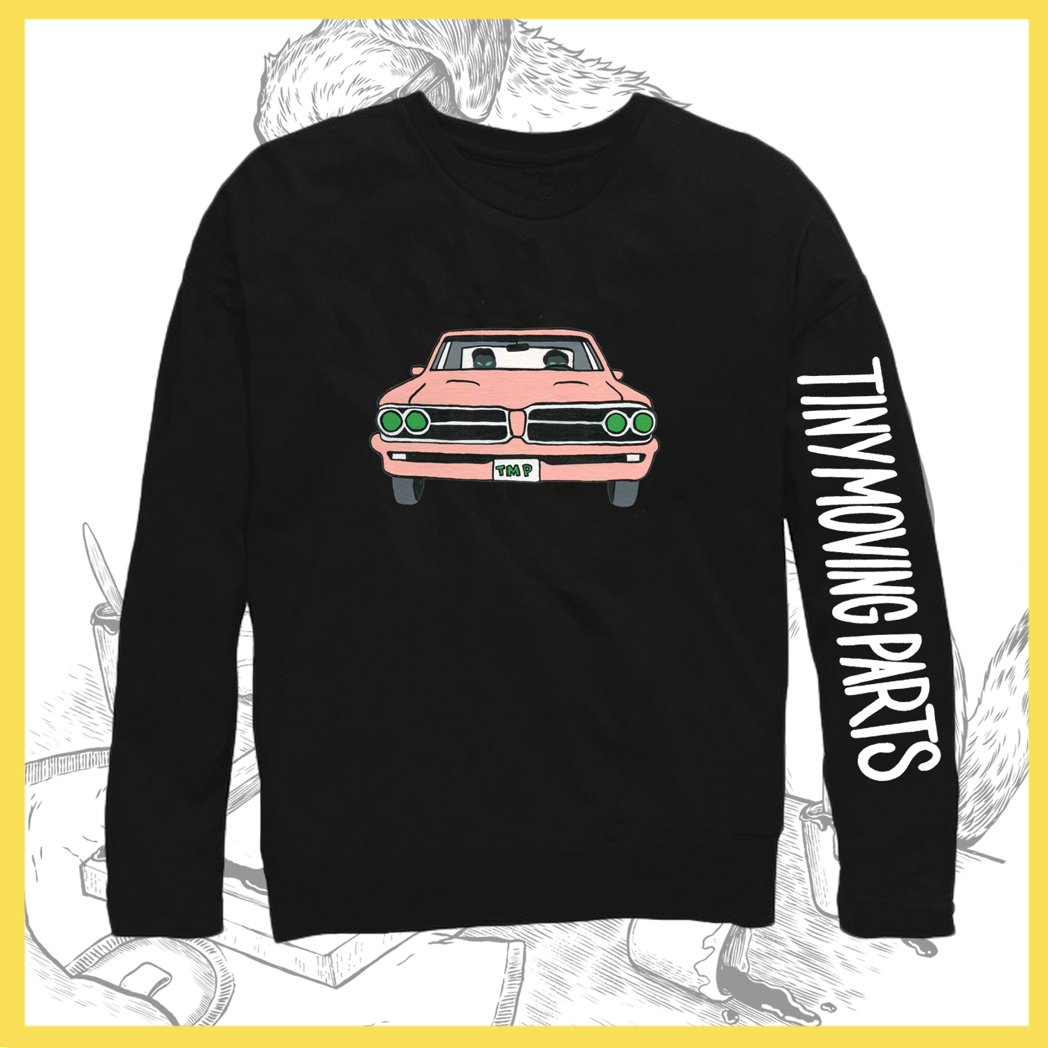 Tiny Moving Parts Car Longsleeve Availability In Stock