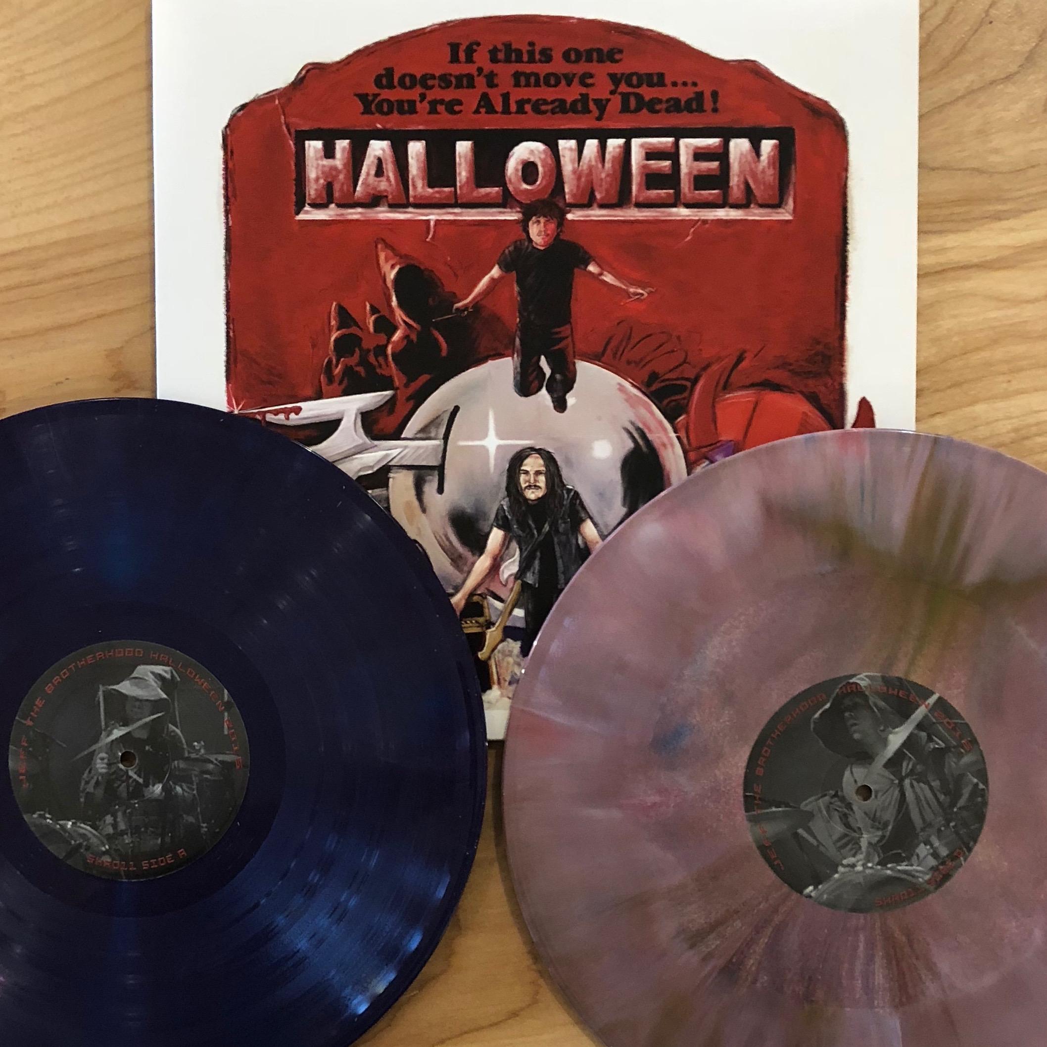 Halloween Jamin.Jeff The Brotherhood Live On Halloween 2xlp Infinity Cat