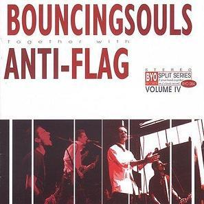 Bouncing Souls / Anti-Flag - BYO Split Series Vol. IV LP