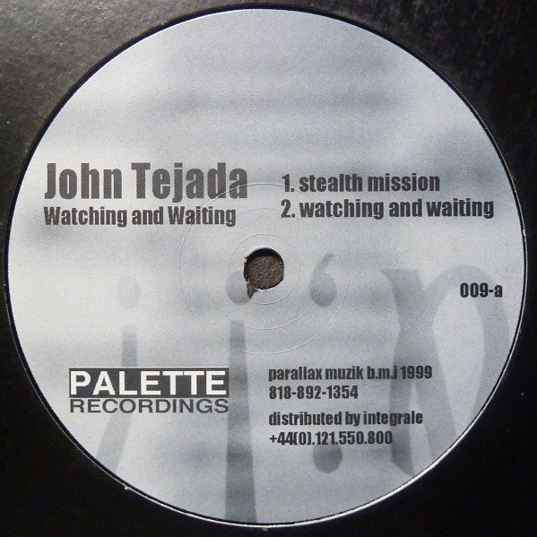John Tejada ‎– Watching And Waiting (Palette Recordings)