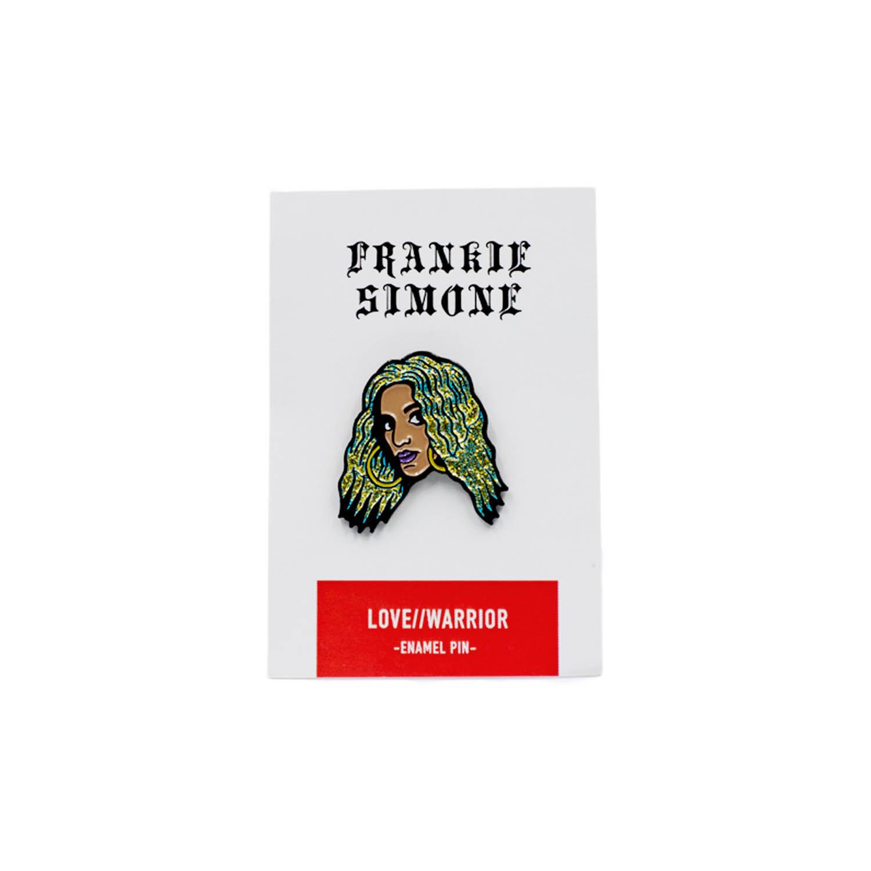 Frankie Simone - Enamel Pin