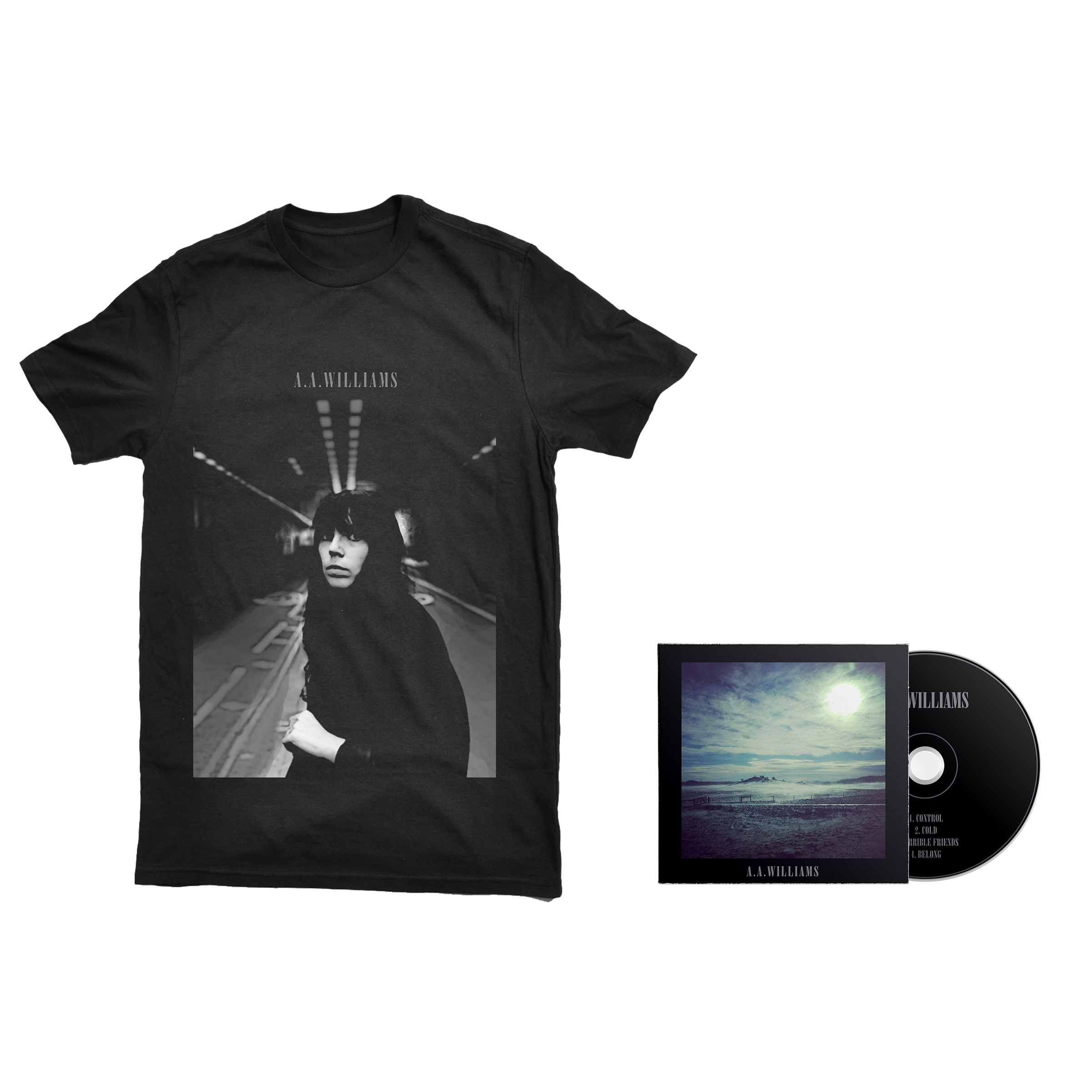 A.A.Williams - S/T CD + shirt PREORDER