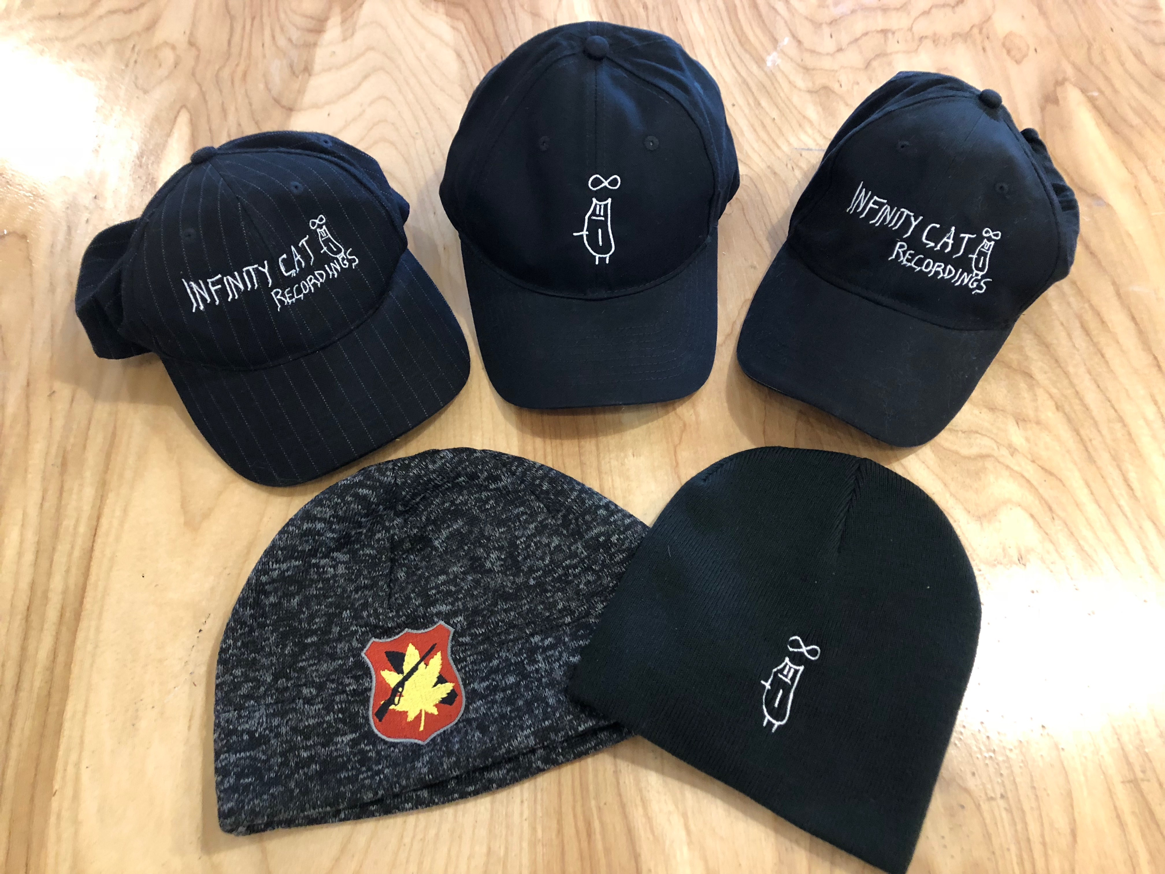 HATS! We have hats! Caps, Beanies, and Hats