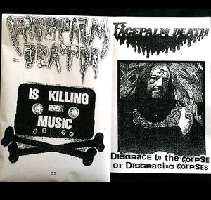FACEPALM DEATH ‎– Disgrace To The Corpse Of Disgracing Corpses TAPE