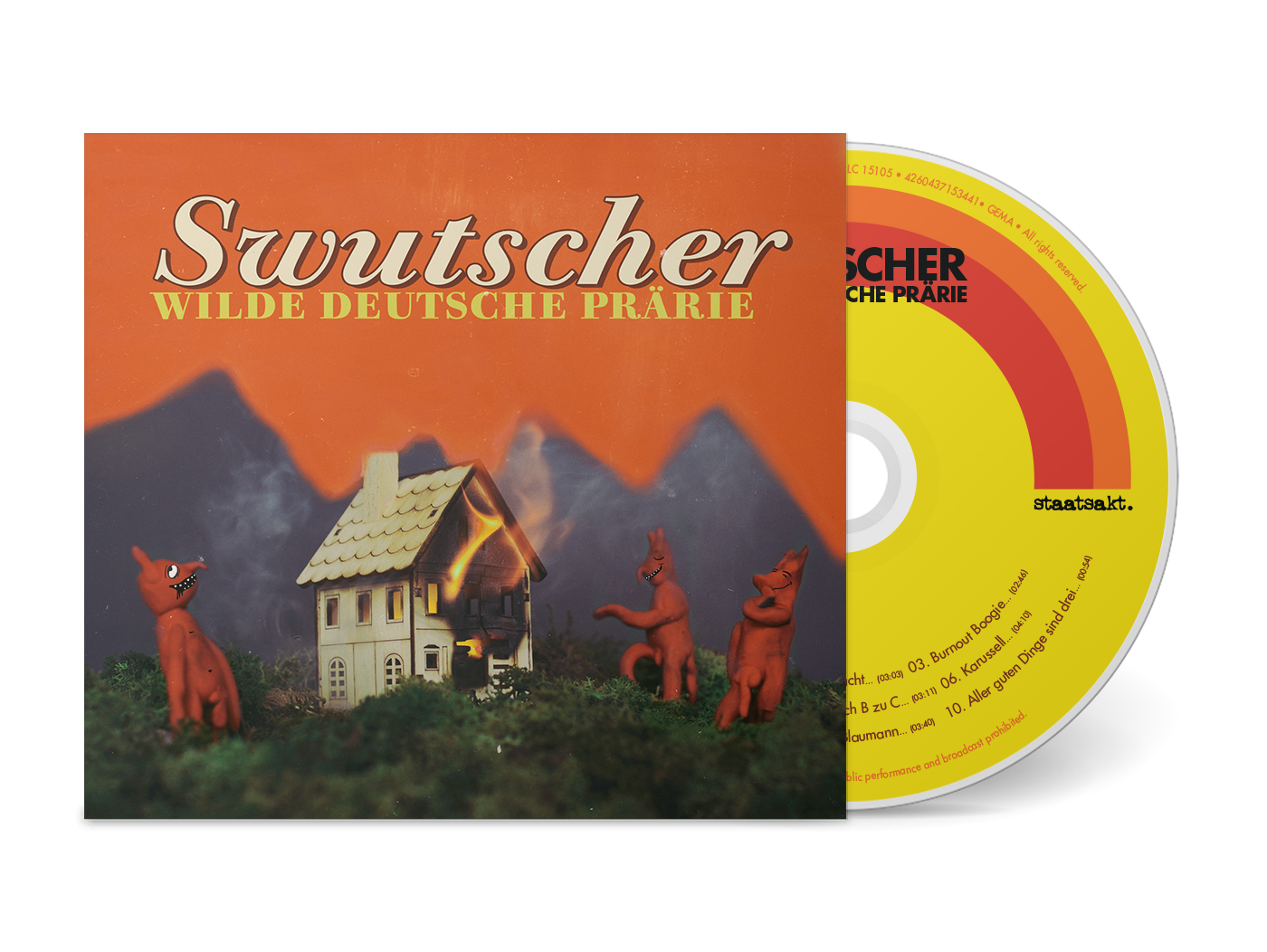 Wilde Deutsche Prärie  [CD]