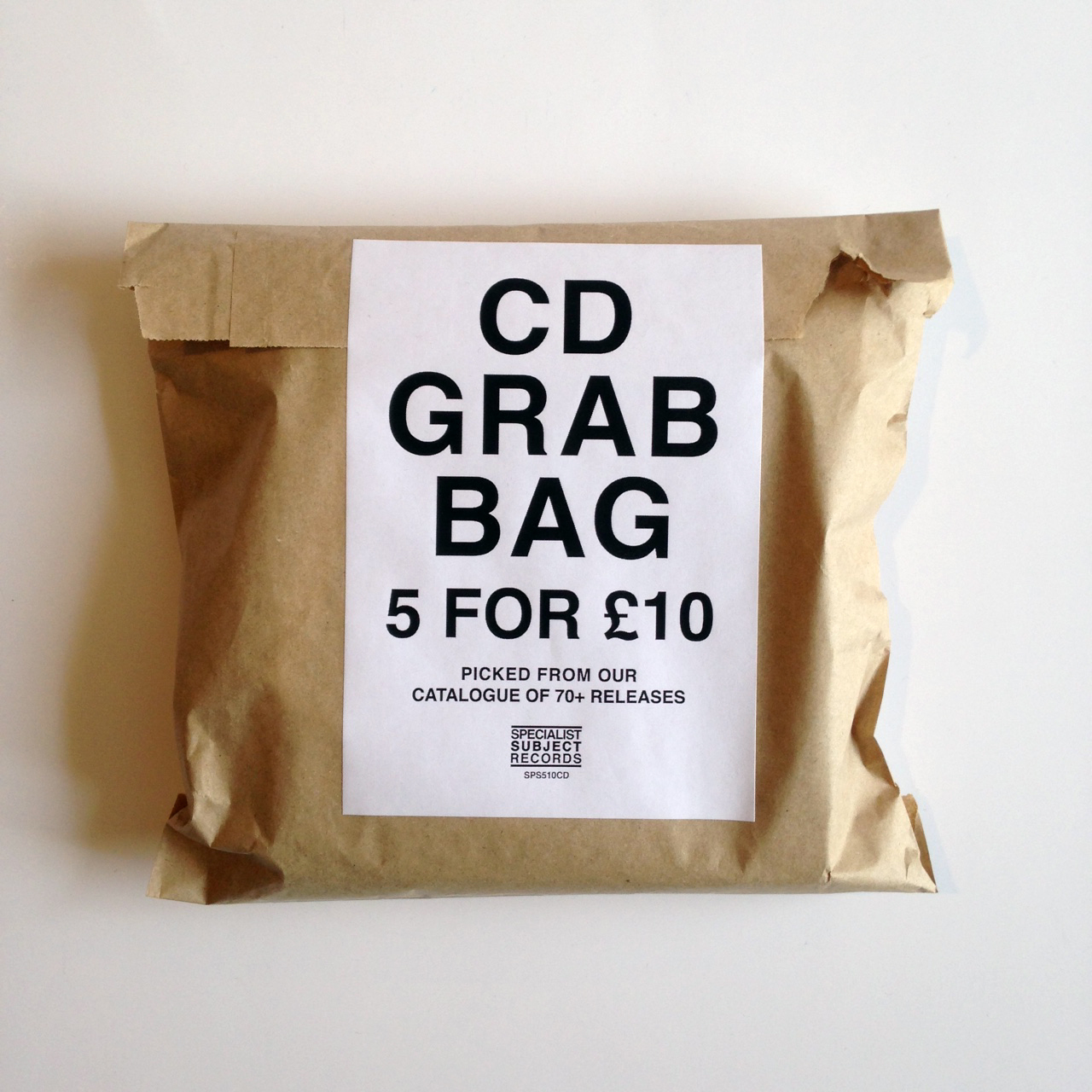 CD Grab Bag - 5 for £10