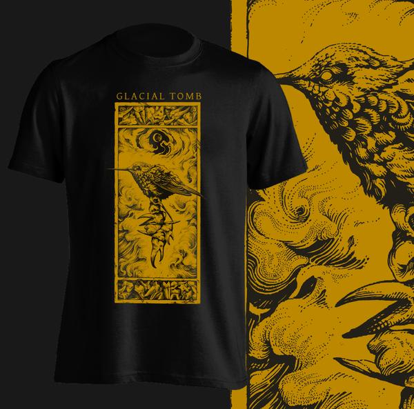 Bird and Teeth T-Shirt (GOLD)